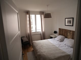 Appartement G: Chambre de style  par TOPOLOGY