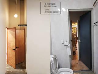 Ванные комнаты в . Автор – 디자인모리,