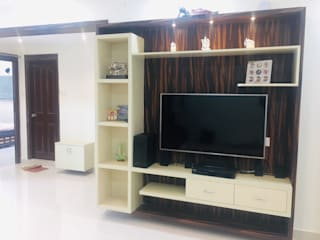Best and cheap Interior designers in Hyderabad Classic style living room by Nxt Dream Interiors Classic
