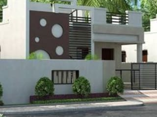 Ragavendra Nagar:  Terrace by Vrealtors Property Developers And Construction,Asian