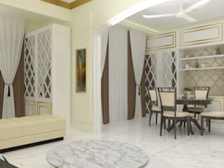 Jamali interiors Asian style dining room by Jamali interiors Asian
