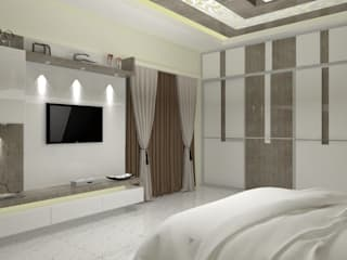 Jamali interiors Asian style bedroom by Jamali interiors Asian