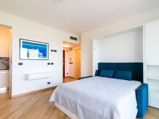 Casa JM2 Camera da letto moderna di Marco D'Andrea Architettura Interior Design Moderno