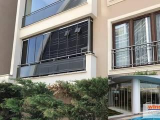 Aswin Cam Balkon AŞ – Winsa Isıcamlı Cam Balkon:  tarz Balkon, Veranda & Teras,