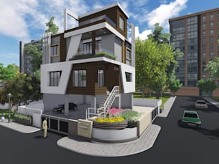 BUNGALOW AT PREM LOK PARK, CHINCHWAD by SAPHALYA GROUPS Modern