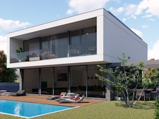 Single family home by Miguel Zarcos Palma,