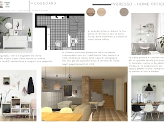 Design for Love Scandinavian corridor, hallway & stairs