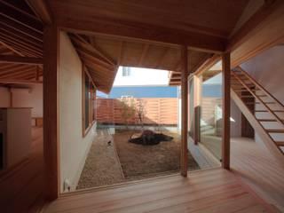 My-house モダンスタイルの 玄関&廊下&階段 の 長谷守保 建築計画 モダン
