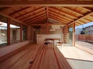 My-house モダンデザインの リビング の 長谷守保 建築計画 モダン