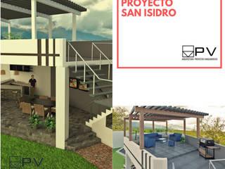 SAN ISIDRO:  de estilo  por PV Arquitectura,