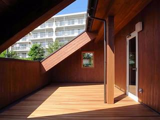 自然派住宅の大規模リフォーム の 一級建築士事務所 感共ラボの森 カントリー