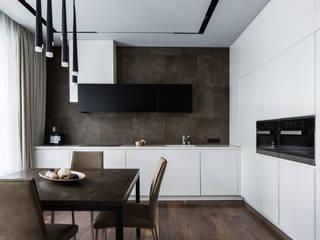 Интерьер квартиры в ЖК Космос Кухня в стиле минимализм от Павел Исаев Минимализм
