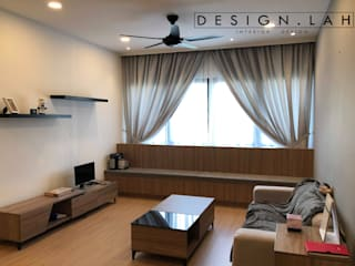 Minimalist living room by DesignLAH Minimalist