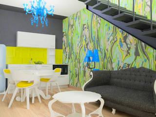Un design intérieur insolite: Petites cuisines de style  par D.DESIGN,