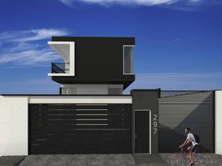 Diseño de Casa en Barquisimeto:  de estilo tropical por AUTANA estudio, Tropical