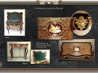 Mobiliário de estilo Boulle por Miguel Tomaz - Conservação e Restauro
