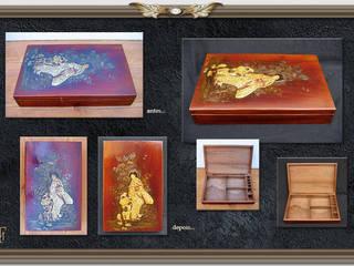 Intervenções de restauro em objetos. por Miguel Tomaz - Conservação e Restauro