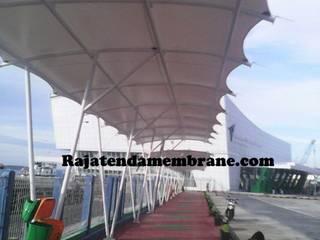 Aziatische kantoorgebouwen van Raja Tenda Membrane Aziatisch