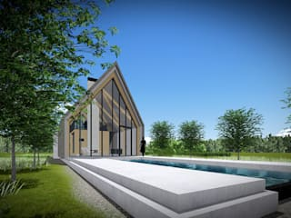 Zein Architecten Adviseurs Infinity pool Wood Beige