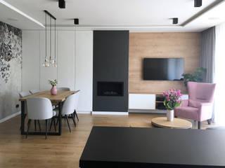 Belleville projektowanie wnętrz Modern living room