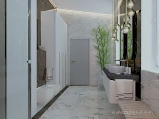 студия Design3F Minimalist style bathrooms