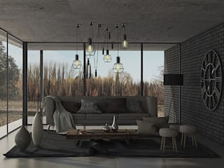 Living room by MOD | Arquitectura, Scandinavian