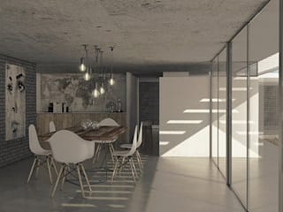 Dining room by MOD | Arquitectura, Scandinavian