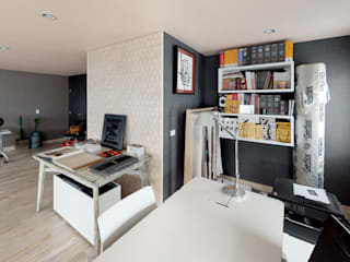 De Stefano Disegno Scandinavian style study/office