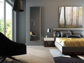 Schlafzimmer Moderne Schlafzimmer von spiegelshop24 Modern