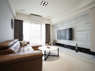 Living room by 有隅空間規劃所, Minimalist