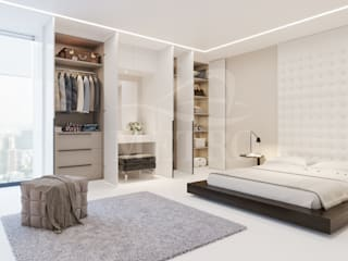 Fitted Wardrobes: modern  by Metro Wardrobes London, Modern