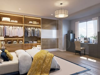Fitted Wardrobes with Sliding Doors London Metro Wardrobes London Camera da lettoArmadi & Cassettiere