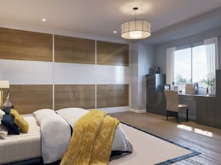 Fitted Bedrooms : modern  by Metro Wardrobes London, Modern