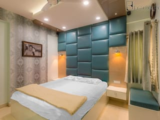Interior Designers in HSR Layout Bangalore | Best Interior Design Firm HSR Layout | Decorpot:  Bedroom by Decorpot,