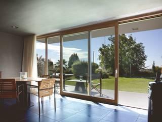 Ventanas de madera de estilo  de Kneer GmbH, Fenster und Türen, Moderno