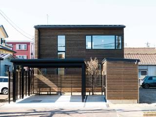 エヌ スケッチ Moderne Häuser Holz