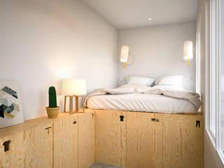 Klassische Schlafzimmer von Piedra Papel Tijera Interiorismo Klassisch