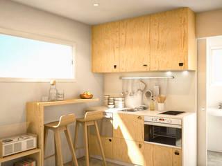 Classic style kitchen by Piedra Papel Tijera Interiorismo Classic