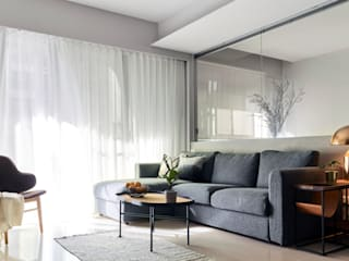 樸十設計有限公司 SIMPURE Design Minimalist living room