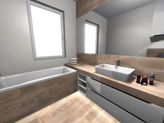 Salle de bain scandinave par Lemax Design Salon Glazury Scandinave