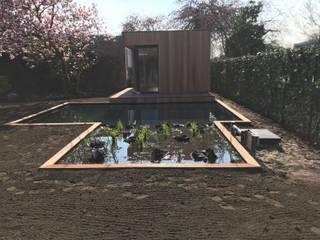 Tuinkantoor te Utrecht van Ecospacestudios Nederland