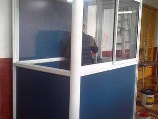 Trabajos de Carpintería en Aluminio:  de estilo  por CEC Espinoza y Canales LTDA
