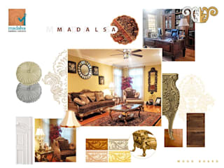 Living room by Madalsa Soni, Colonial