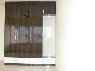 3BHK Flat Interiors @ Rohan Iksha Apatment, Bangalore Classic style bedroom by SP Interiors Classic