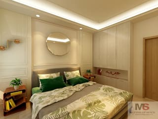 Guest Room by Matter Of Space Pvt. Ltd. Minimalist Glass