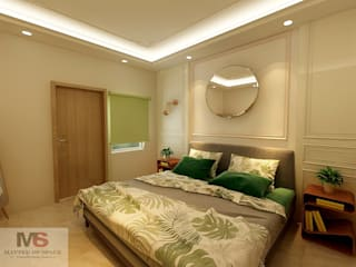 Guest Room by Matter Of Space Pvt. Ltd. Minimalist Plywood