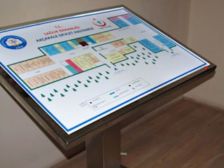 Braille Kabartma Yönlendirmeleri Menteş Tasarım ve Müteahhitlik