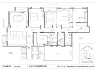 de arQmonia estudio, Arquitectos de interior, Asturias Minimalista