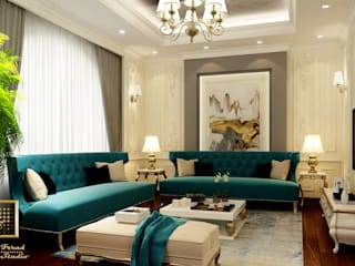 Dubai villa من Rania Trrad Design Studio