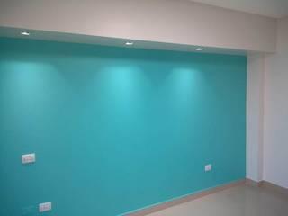 proyectos realizados Comedores modernos de shopping color Moderno